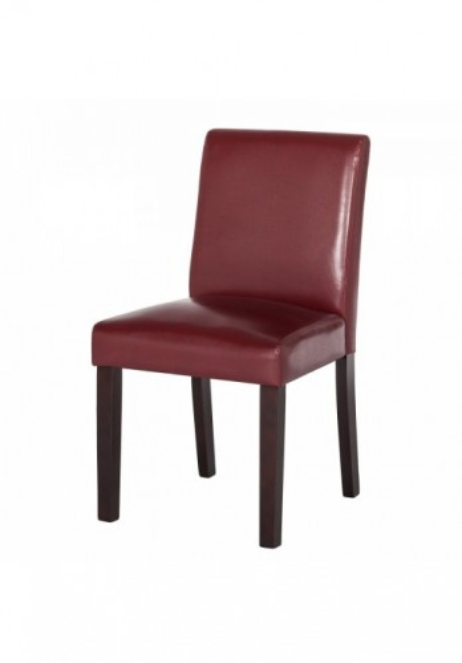 Set de 2 scaune tapițate Laurel, Purpuriu