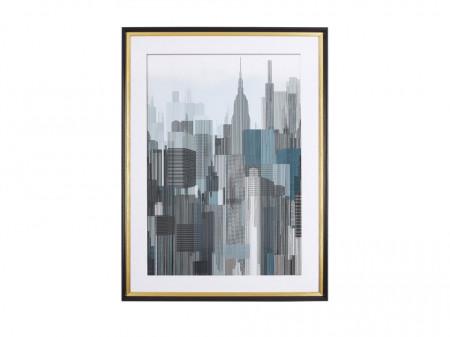 Tablou BAMAKO, hartie, 60 x 80 x 5 cm