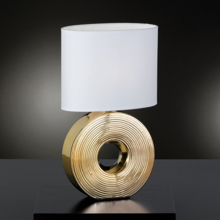 Veioza Eye - ceramica/tesatura