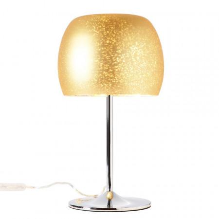 Veioza Gleam sticla/otel, auriu, 1 bec, 240 V, 10 W