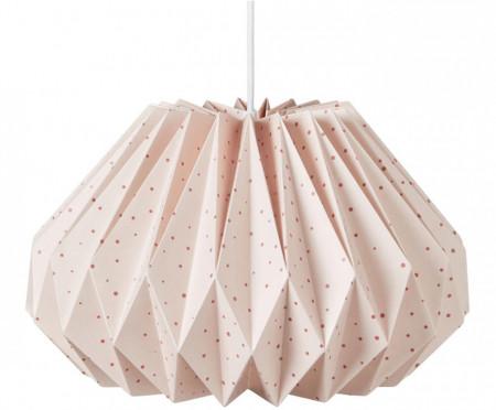 Abajur Origami roz, 35x23cm