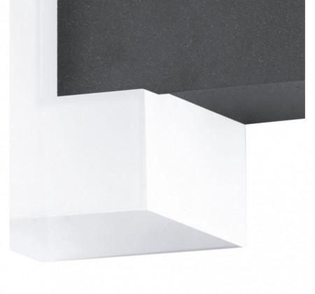 Aplica Exterior SITIA LED otel zincat / antracit, 2 becuri, alb/gri, 240 V, 5 W
