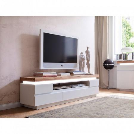 Comoda Tv Roble III cu sistem de iluminare LED