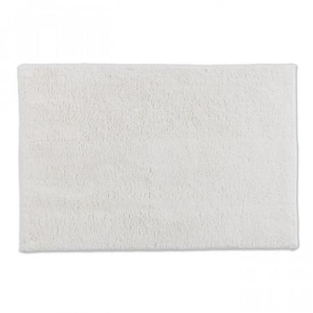 Covor de baie Bahamas, bumbac, alb, 90 x 60 cm