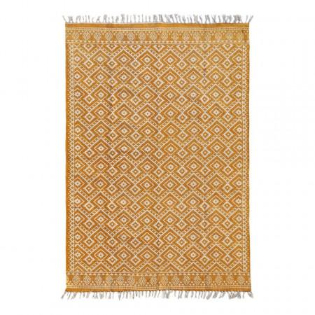Covor Ethno, 120 x 150 cm, galben