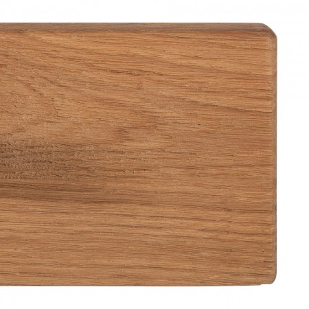 Cuier Forunas I stejar salbatic/metal, maro, 100 x 9 x 2 cm