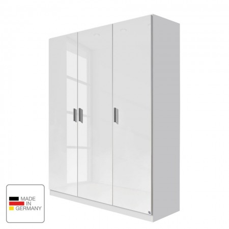 Dressing CELLE - alb lucios - 136cm