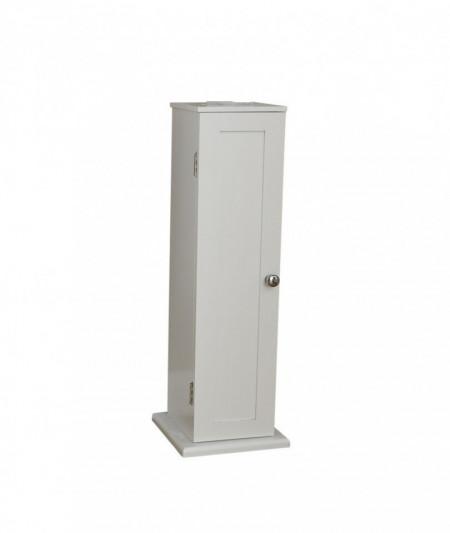 Dulap Ashbury, alb, 20 x 65 cm
