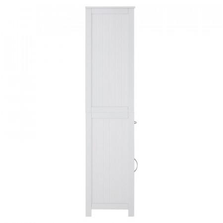 Dulap de baie Stuff, alb, 40 x 160 cm