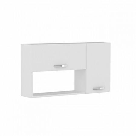 Dulap de bucatarie Alfortville, MDF, alb, 52 x 90 x 24,8 cm