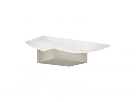 Lampa perete METRASS plastic/aluminiu, alb, 1 bec, 220 V, 5 W