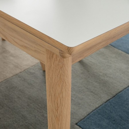 Masa extensibila Arvid II, MDF/lemn stejar