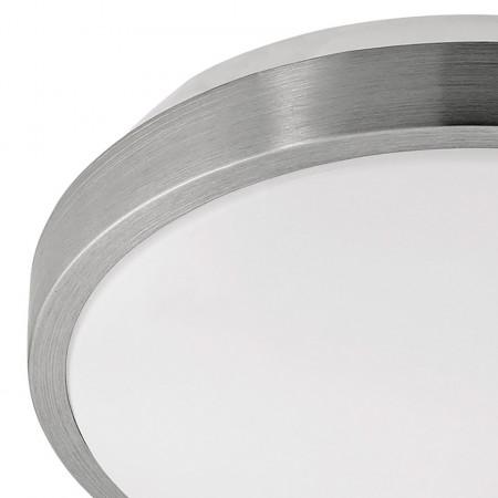 Plafoniera LED Competa plastic, alb, 1 bec, diametru 32.5 cm, rotund, 220 V