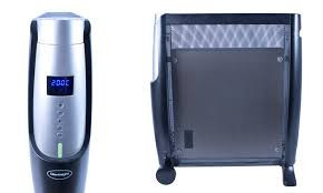Radiator digital Silentnight Mica, 2500 W, negru