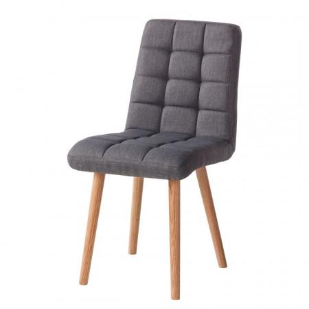Set de 2 scaune Doskie, antracit deschis
