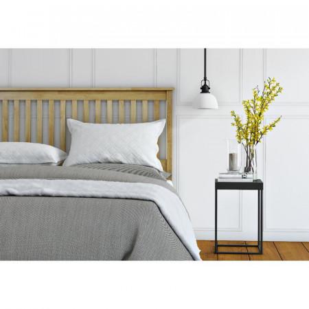 Tăblie de pat Abingdon din lemn, 122 x 65.8 cm