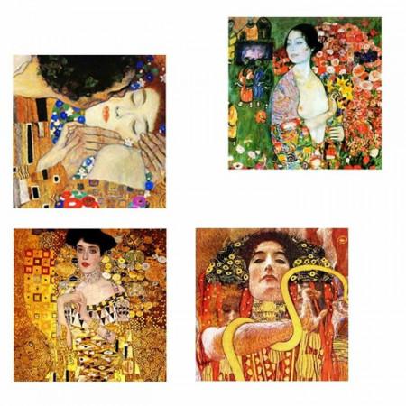 Tablou 'Composition 2', 4 piese, 50 x 50 x 2,2 cm