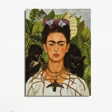 Tablou, de Frida Kahlo, 40 x 30 x 3 cm