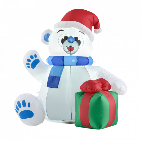 Urs polar gonflabil, 120 x 100 x 170 cm
