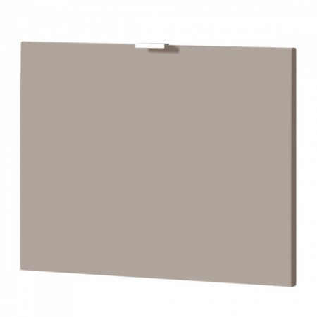 Usa de dulap Colorado MDF/aluminiu, matt nisipiu, 52 x 41.5 x 1.6 cm