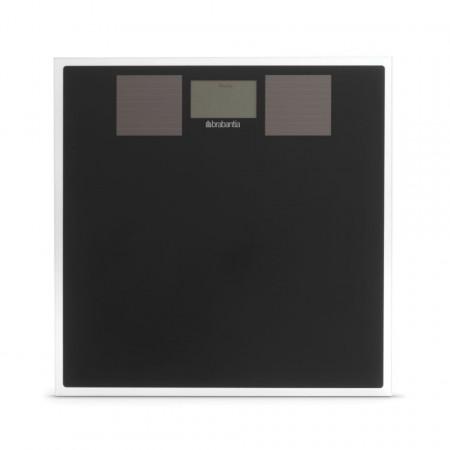 Cantar Brabantia Solar Digital sticla, negru
