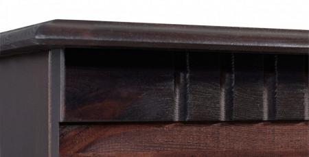 Comoda TV Lisa din lemn masiv de pin havana maro 130 cm