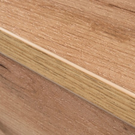 Pantofar Nerola PAL/stejar, alb, 89 x 118 x 37 cm