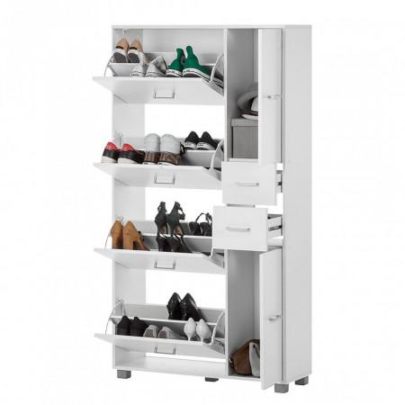 Pantofar Pisa II - PAL - alb