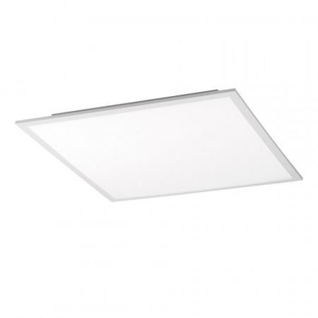 Plafoniera Flat Panel I 45 cm, plastic/otel, alb, patrat, 1 bec, 230 V, 31 W