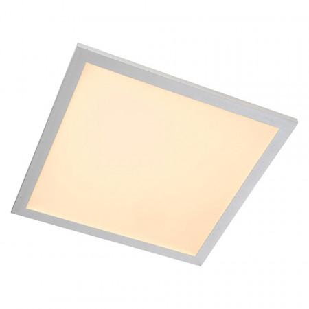 Plafoniera LED Panel plastic/aluminiu, alb, patrat, 1 bec, 230 V, 3200 lm