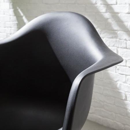 Set de 2 scaune Austin, negru