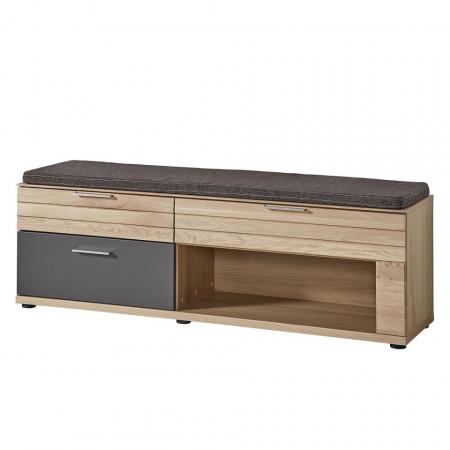 Set mobilier pentru hol JORVI - 4 piese- lemn masiv