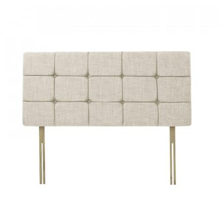 Tăblie tapițată cu in Carrizales, 60cm H x 135cm W x 5cm D