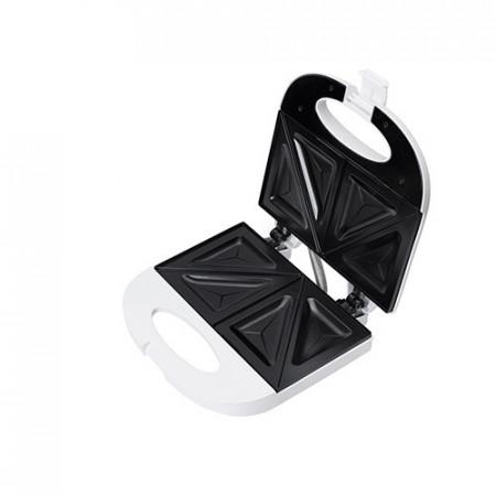Aparat pentru sandwich Adler AD 301 alb/negru, 750 W