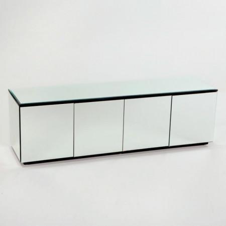 Buffet Bauder, lemn, alb, 57 x 182 x 50 cm
