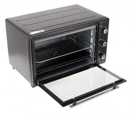Cuptor electric Mesko MS 6021, 66 L, otel inoxidabil, gri inchis, 3000 W