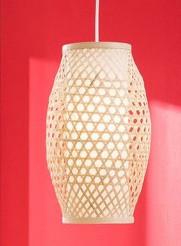 Lustra tip pendul Himo I bambus