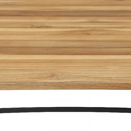 Masa rabatabila Peru II din lemn masic de tec