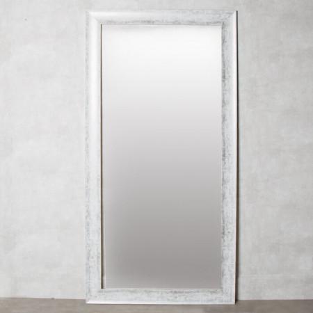 Oglinda Helmsford, argintie, 197 x 96 x 3 cm