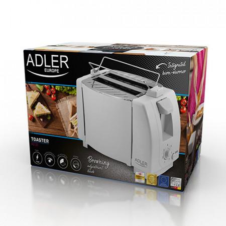 Prăjitor de pâine Adler AD 33, 2 felii