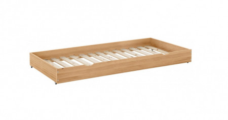 Sertar pentru depozitare Alpi, lemn masiv de pin, maro, 90x200 cm