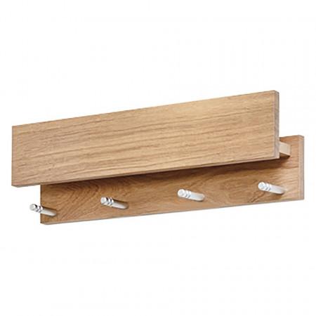Suport pentru chei Moon, lemn masiv de stejar