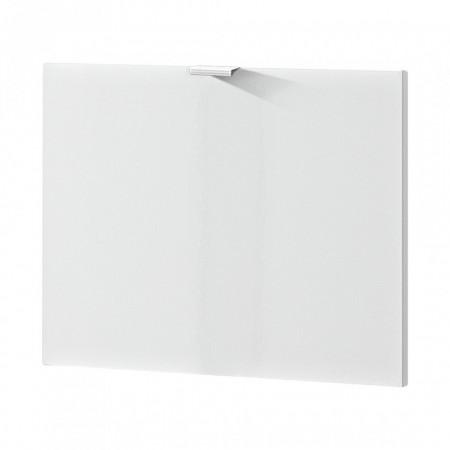 Usa de dulap Colorado MDF/aluminiu, alb lucios, 52 x 41.5 x 1.6 cm