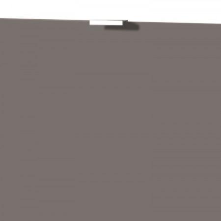 Usa de dulap Colorado MDF/aluminiu, bazalt mat, 52 x 41.5 x 1.6 cm