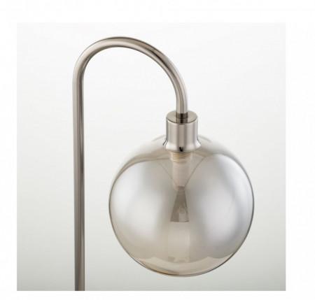 Veioza Kjul fier/sticla, alb, 1 bec, 230 V