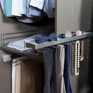 Suport pentru cravate de montat in dressing
