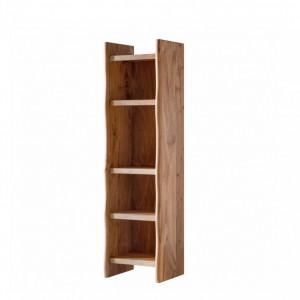 Biblioteca Vardo din lemn de salcam