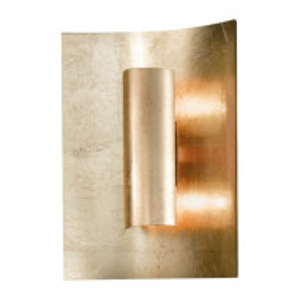 Aplica Aura, metal/sticla, argintie, 23x 30 x 8 cm, 80w
