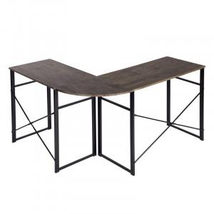 Birou Kreitler din PAL, maro / negru, 72.5 x 123 x 103cm