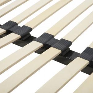 Cadru de pat metalic Basic cu lamele, 160 x 200cm